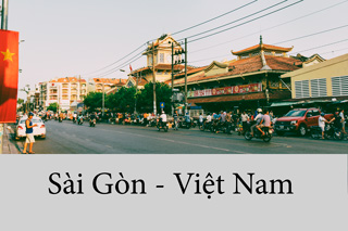 Roaming the streets of Saigon Vietnam