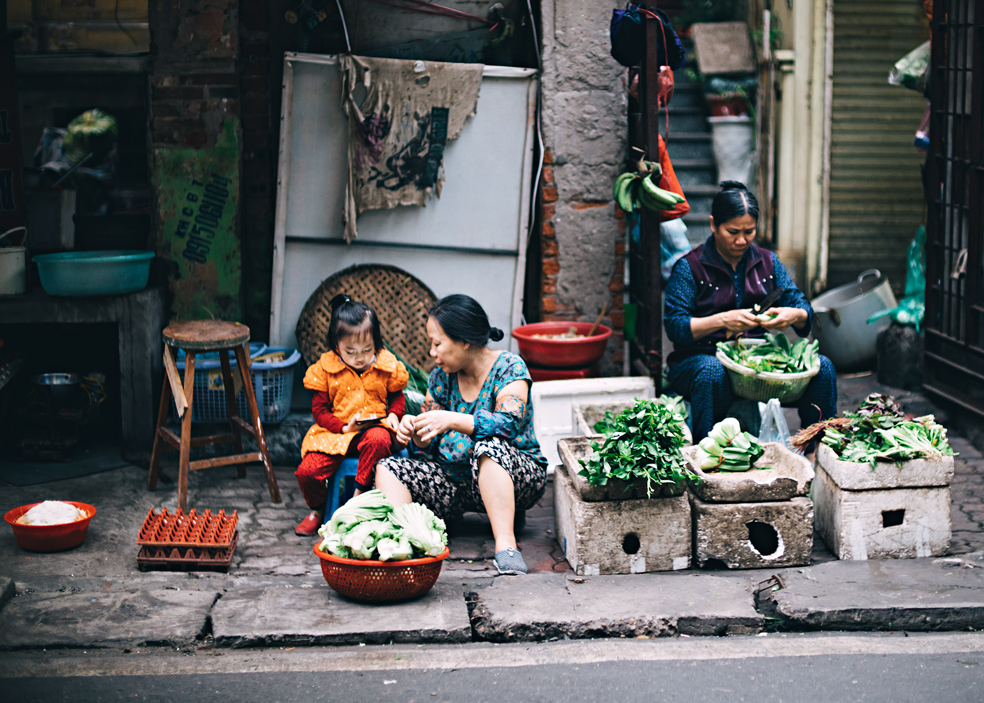 Hanoi Vietnam by DOMINIK PHOTOGRAPHY