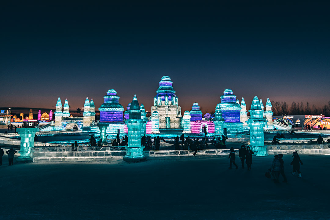 Ice Snow Festival Harbin China