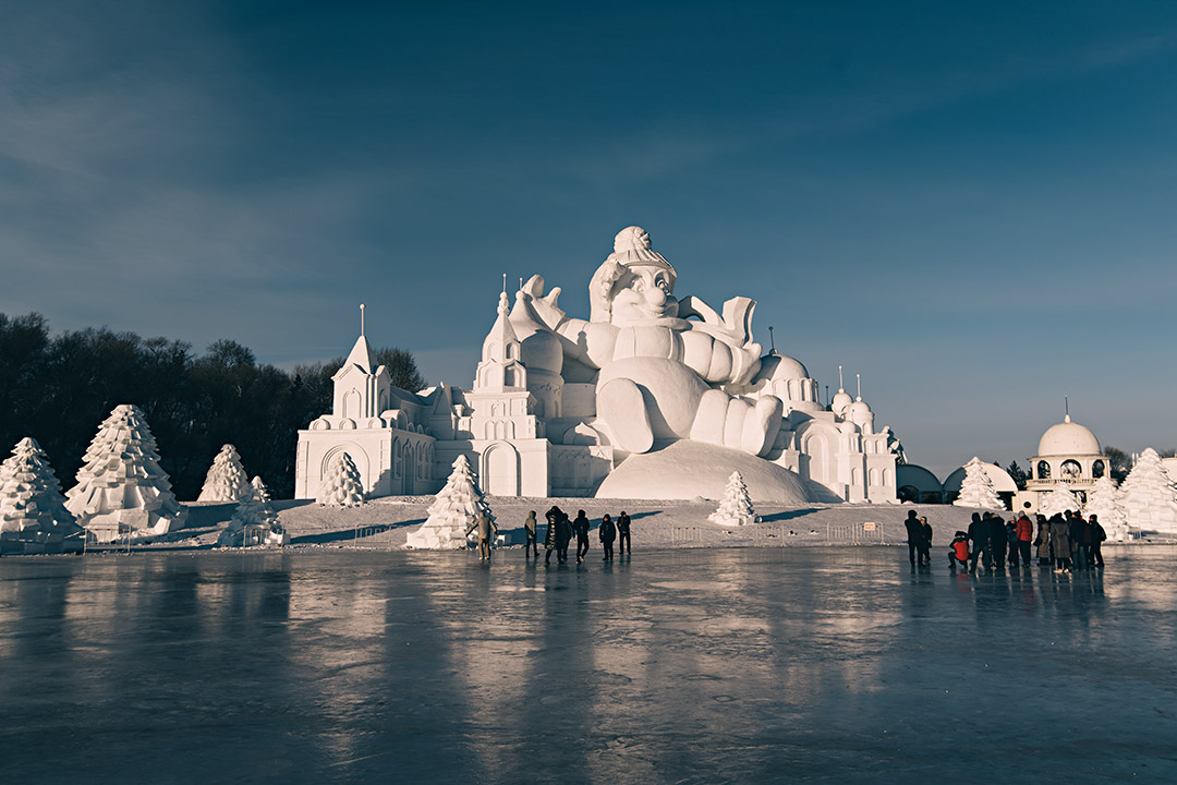 Snow Ice Festival China
