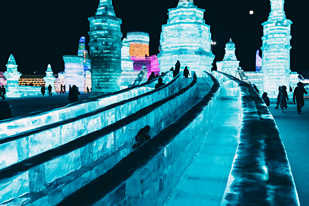Snow Ice Festival Harbin