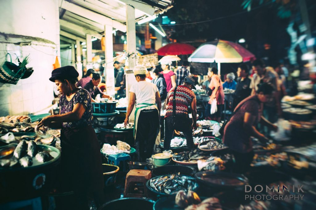 traditional wet market Bali