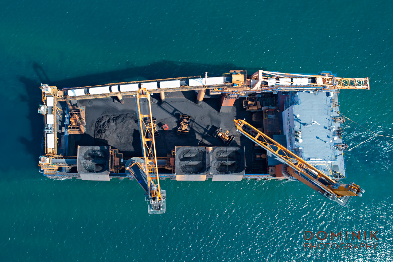 Industrial Mining Drone Photo Video Indonesia