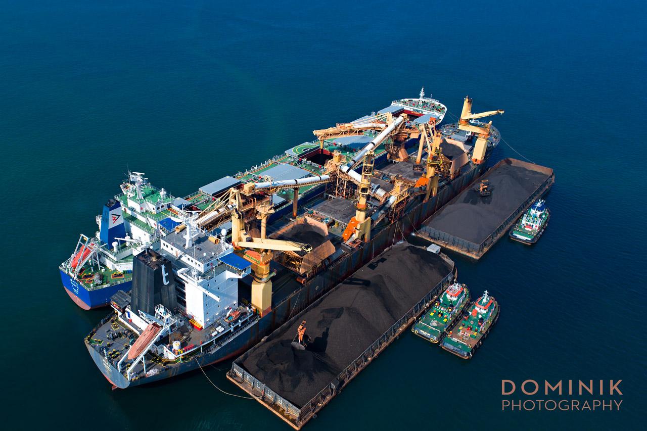 Maritime Mining Industry Photographer Video Indonesia