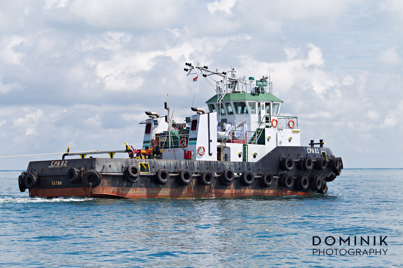 Mining Shipping Photographer Video Indonesia