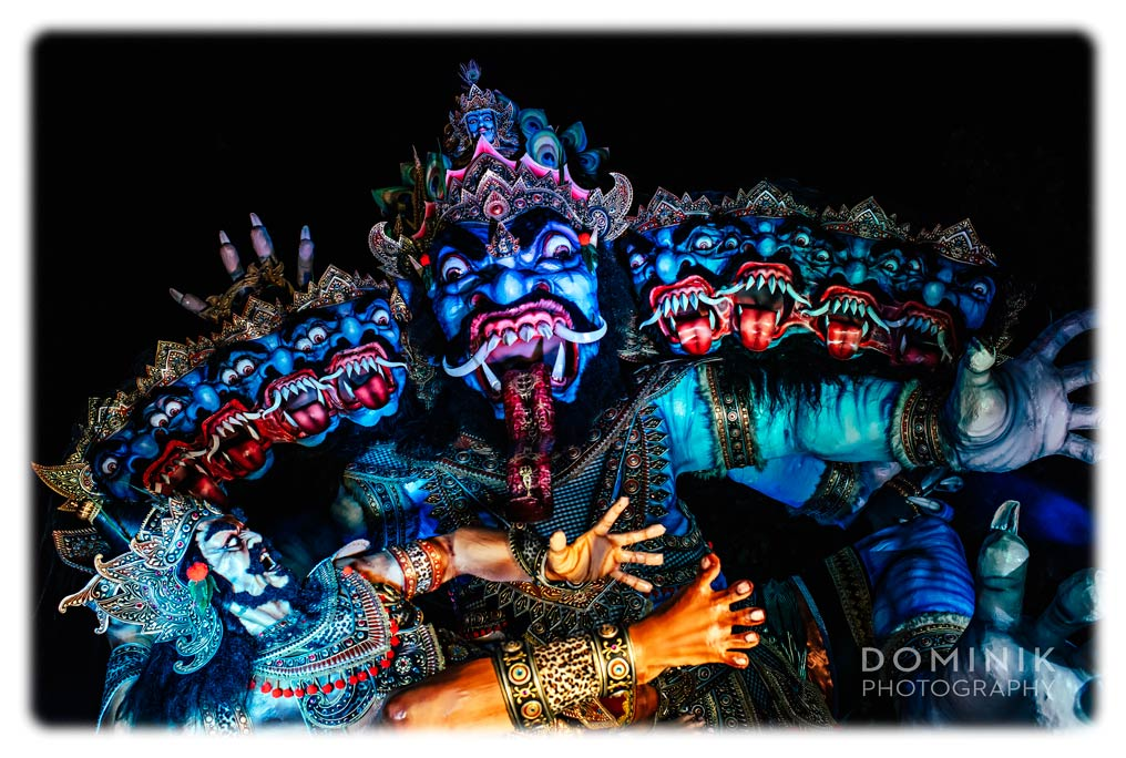 Ogoh Ogoh parade in Bali