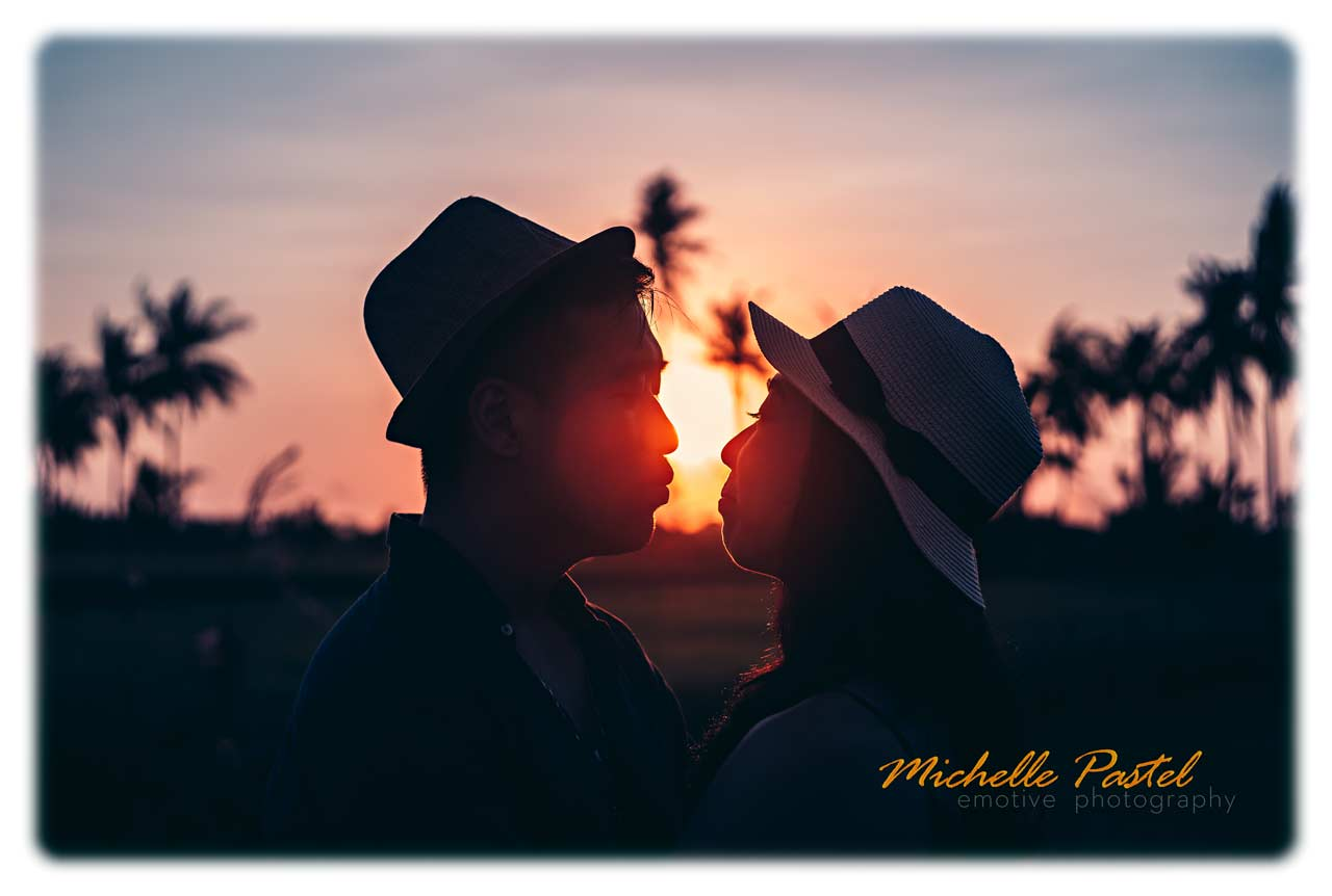 Michelle Pastel Dominiik Vanyi Bali pre wedding with vintage lenses
