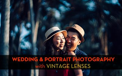 Pre-Wedding Slow Photography in Bali with Vintage lenses